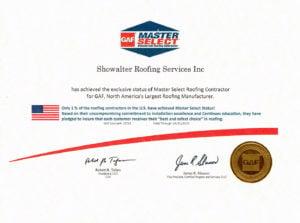 GAF Master Select 2014 Roofers